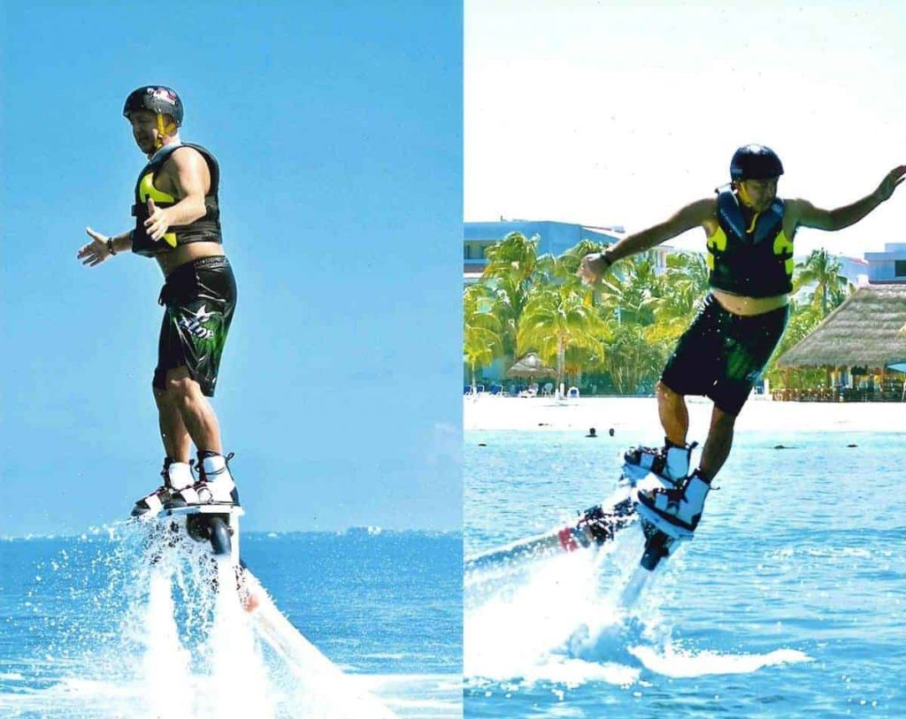 Keith Flyboarding in Mexico