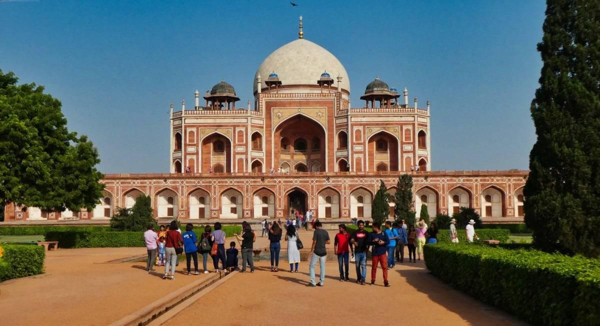 delhi tomb
