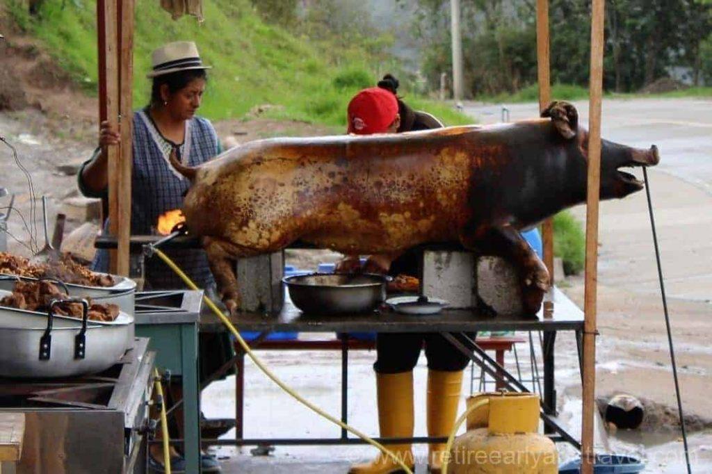 ecuador street food