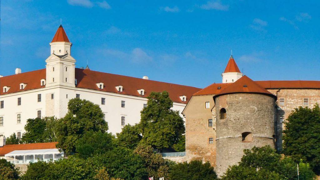 castle in bratislava