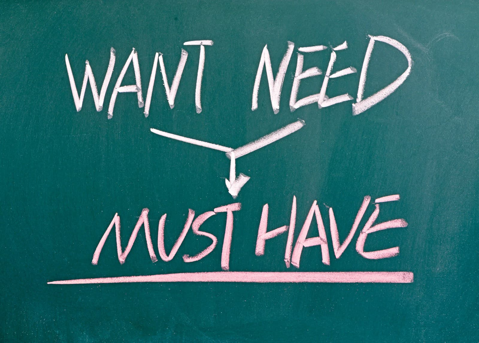 Money needs