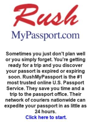 Resource Page RushMyPassport