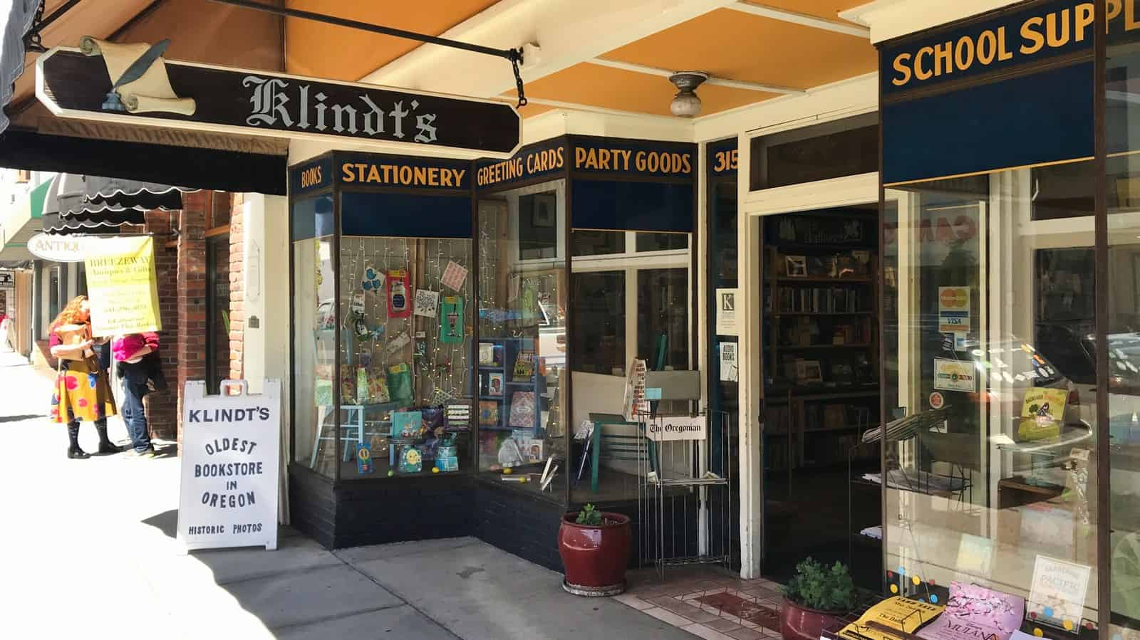 Klindt's bookstore