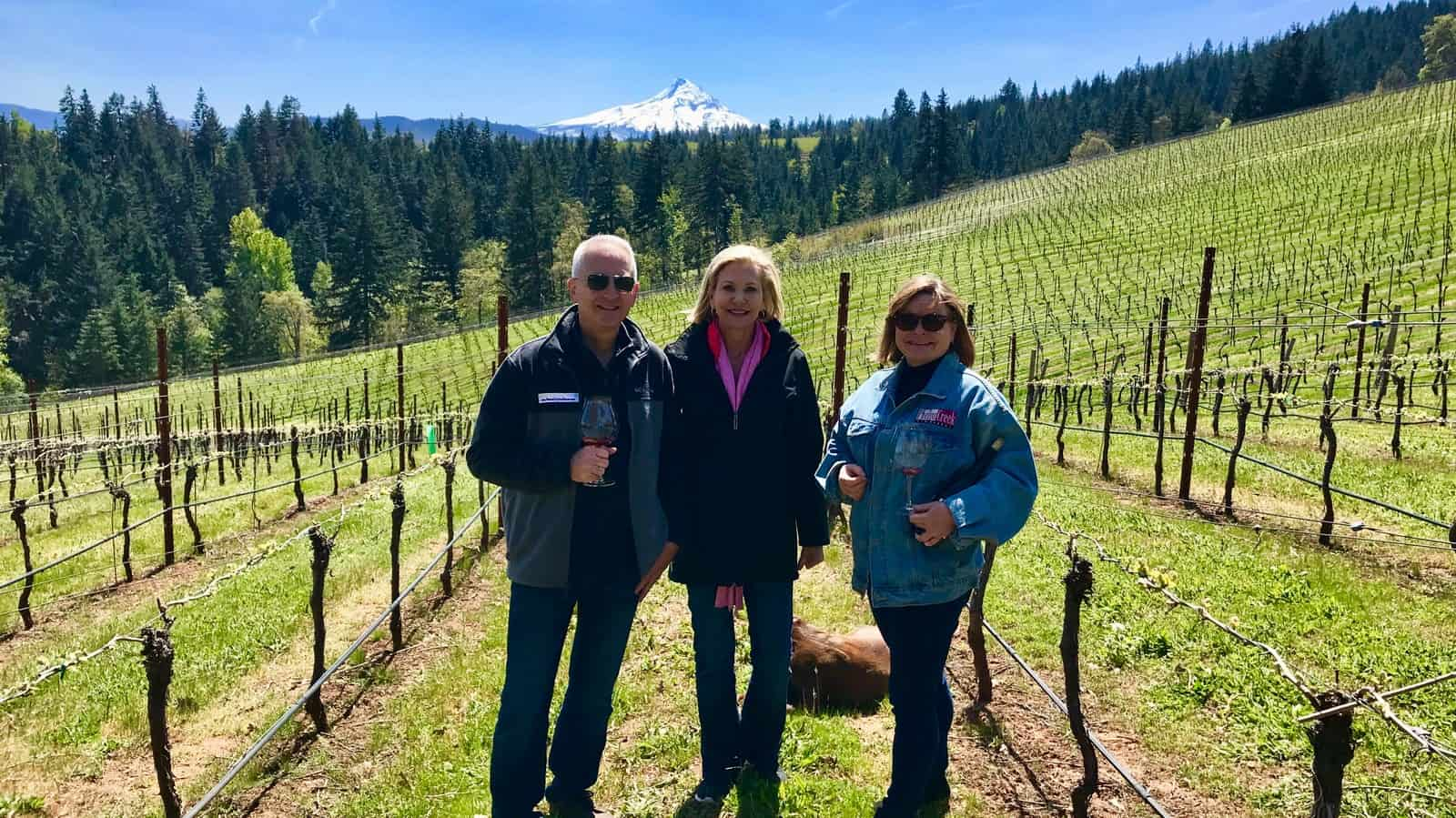 Columbia Gorge Wine - Phelps Creek Winery