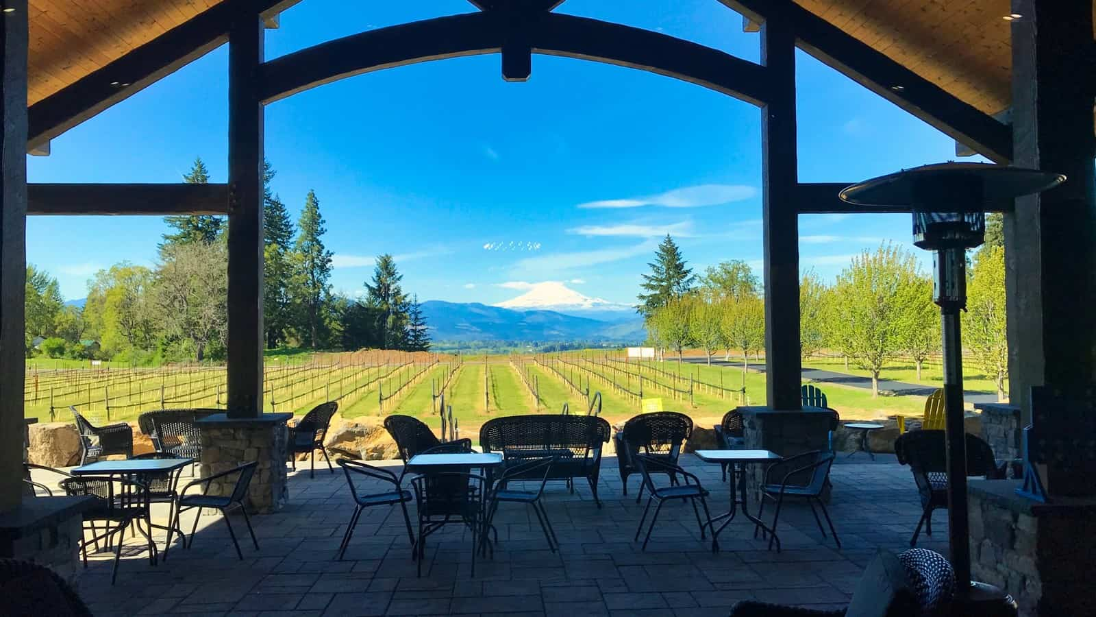 Columbia Gorge Wine - Stave & Stone Winery
