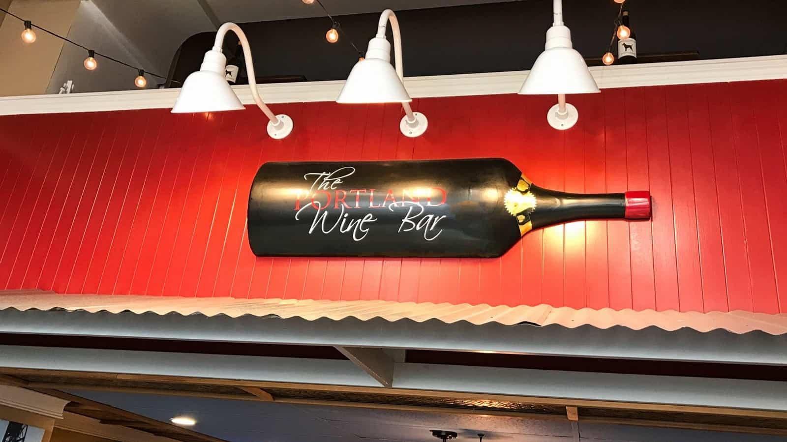 Portland wine bar