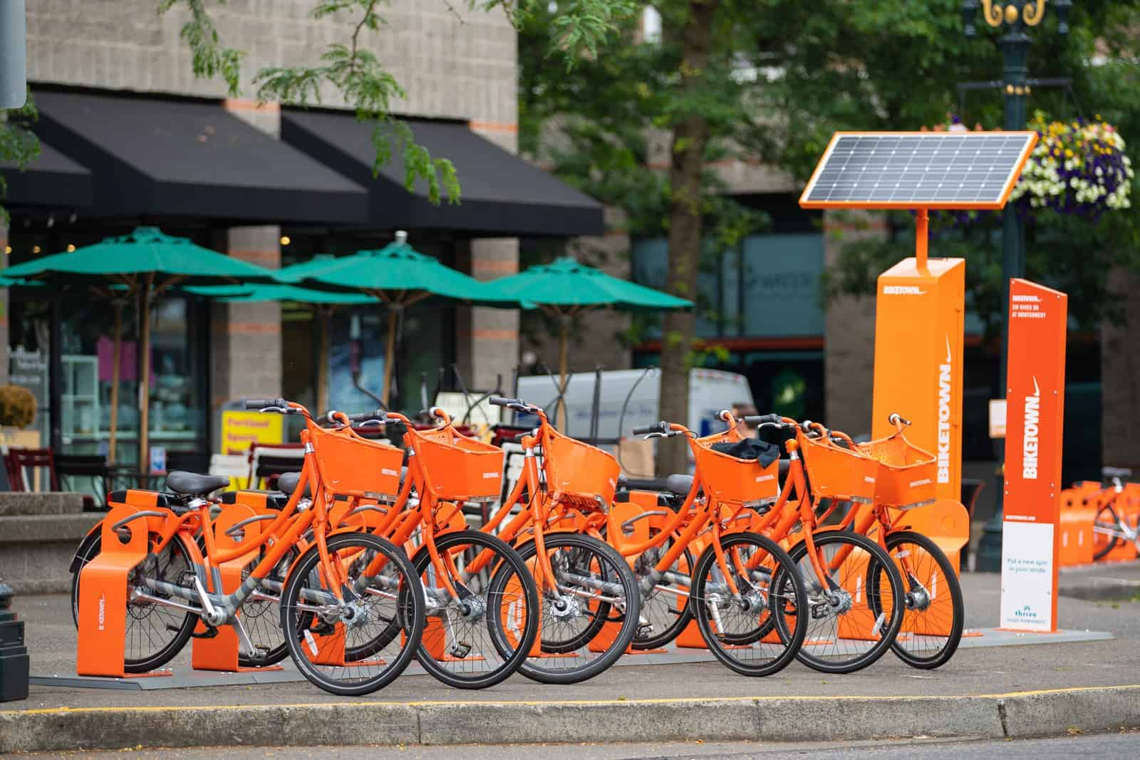 Bike rentals in Portland Oregon