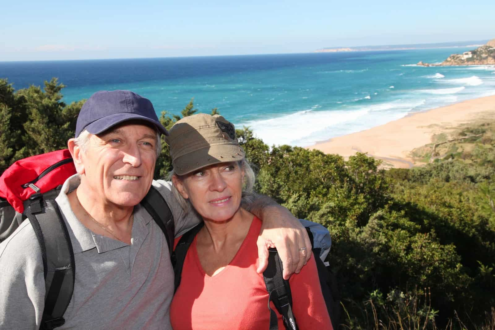 Retirement Savings Senior Couple Hiking