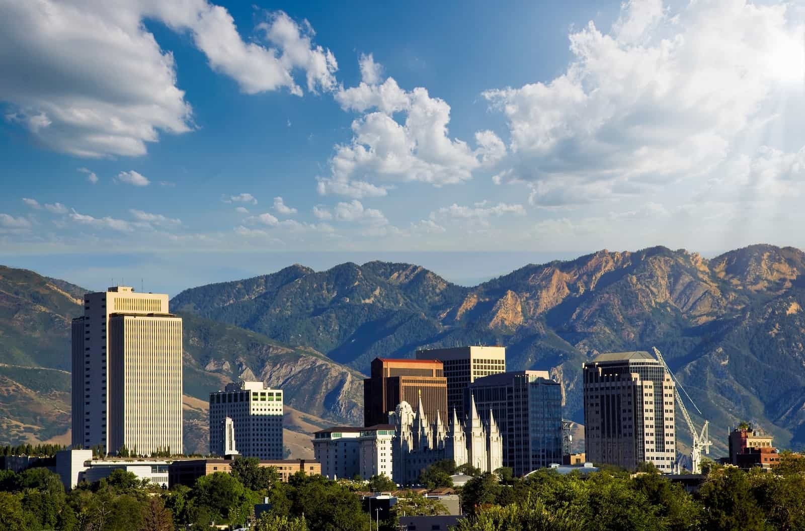 Things to do in Salt Lake City skyline