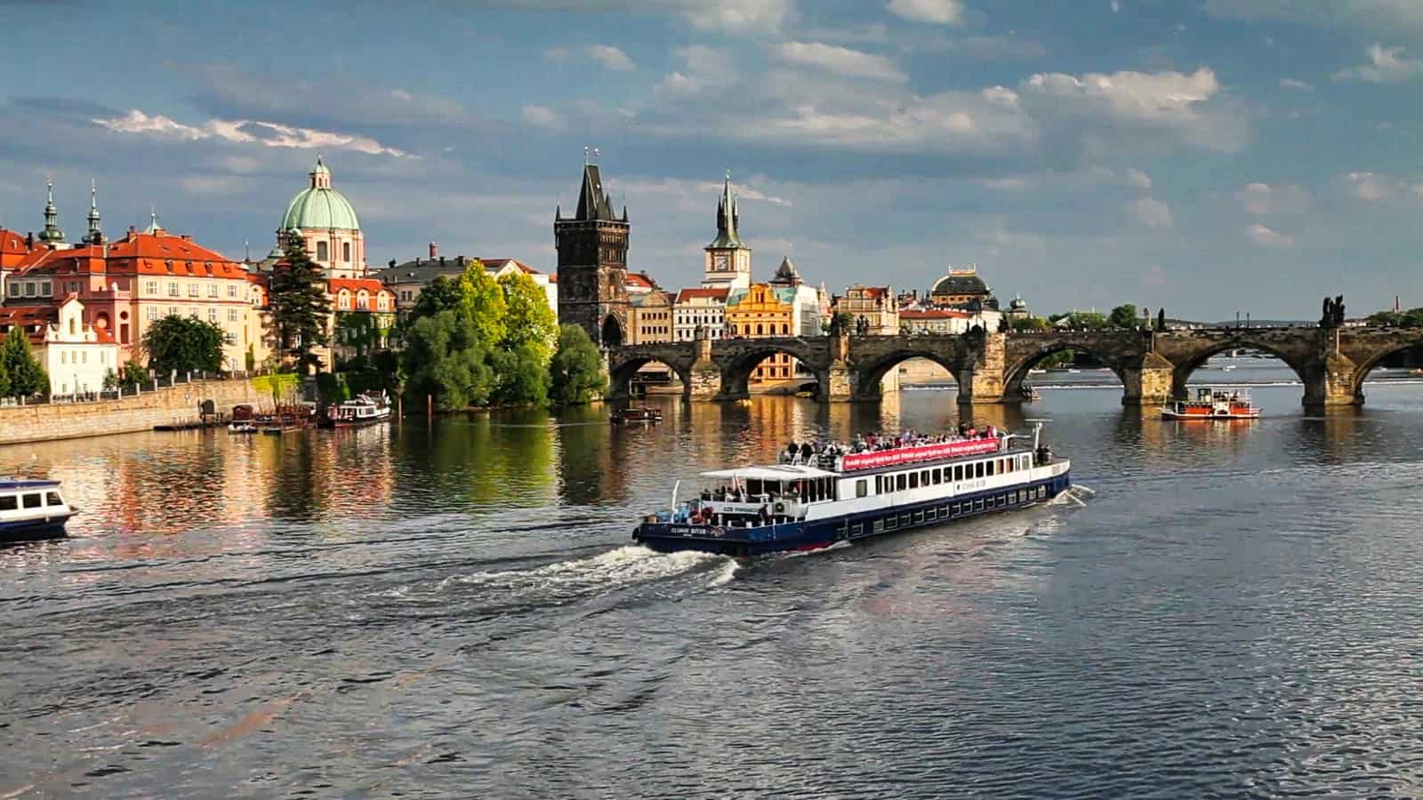 Prague Itinerary St Charles Bridge