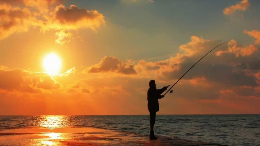 early retirement savings fishing
