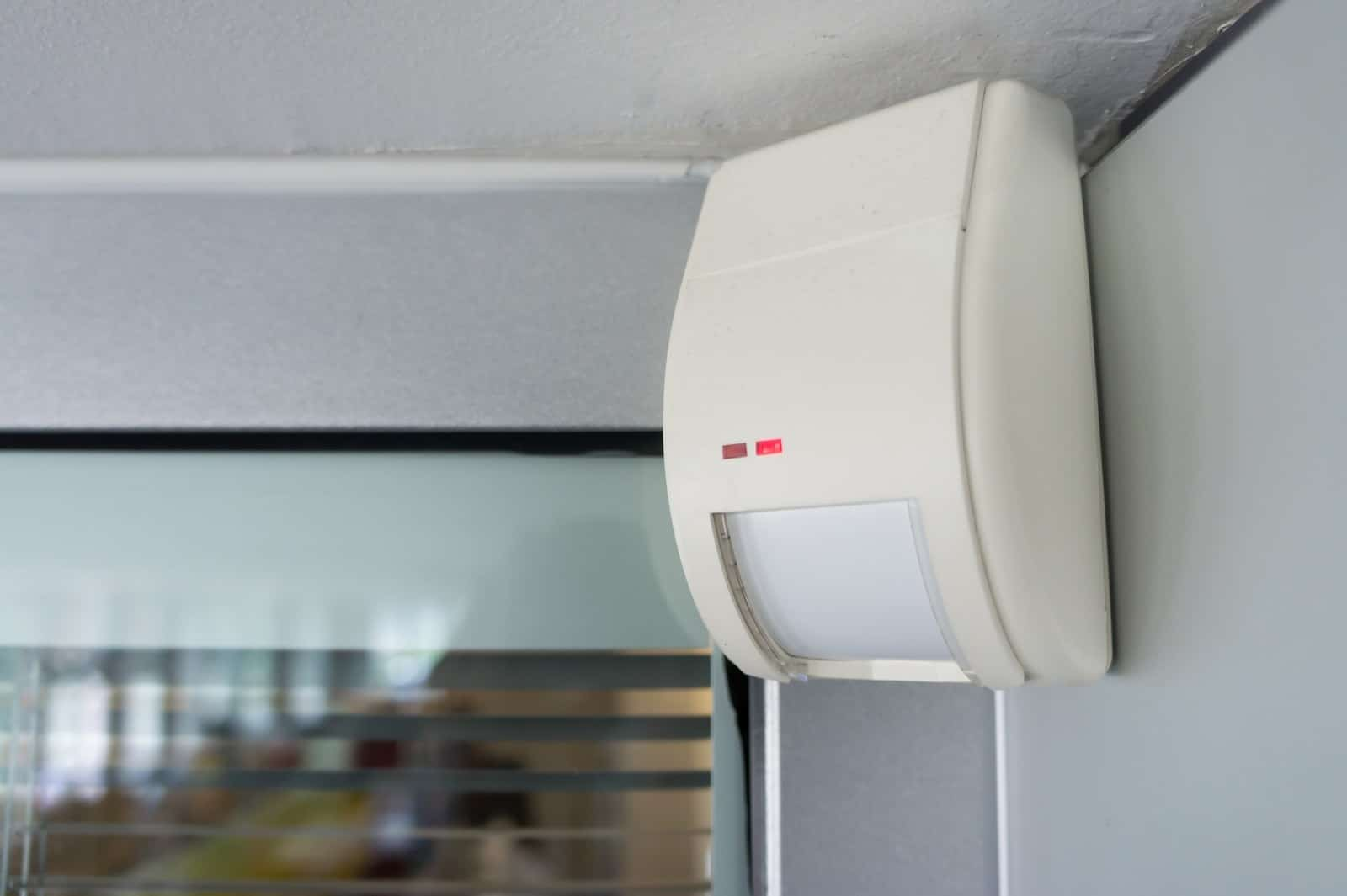 Home security motion detector