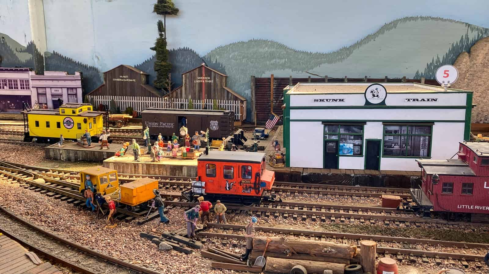 Mendocino Model Train