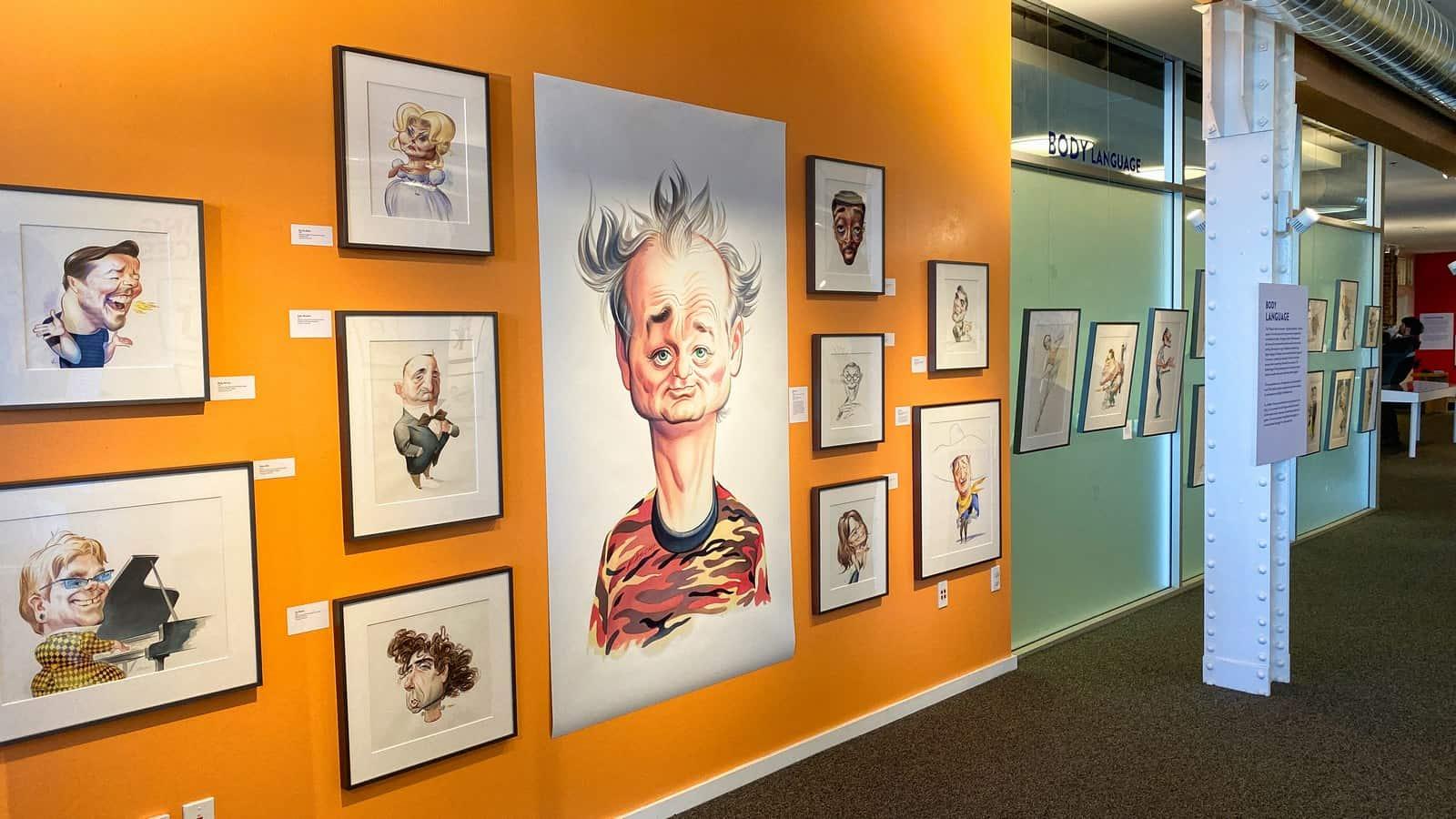 San Francisco cartoon museum