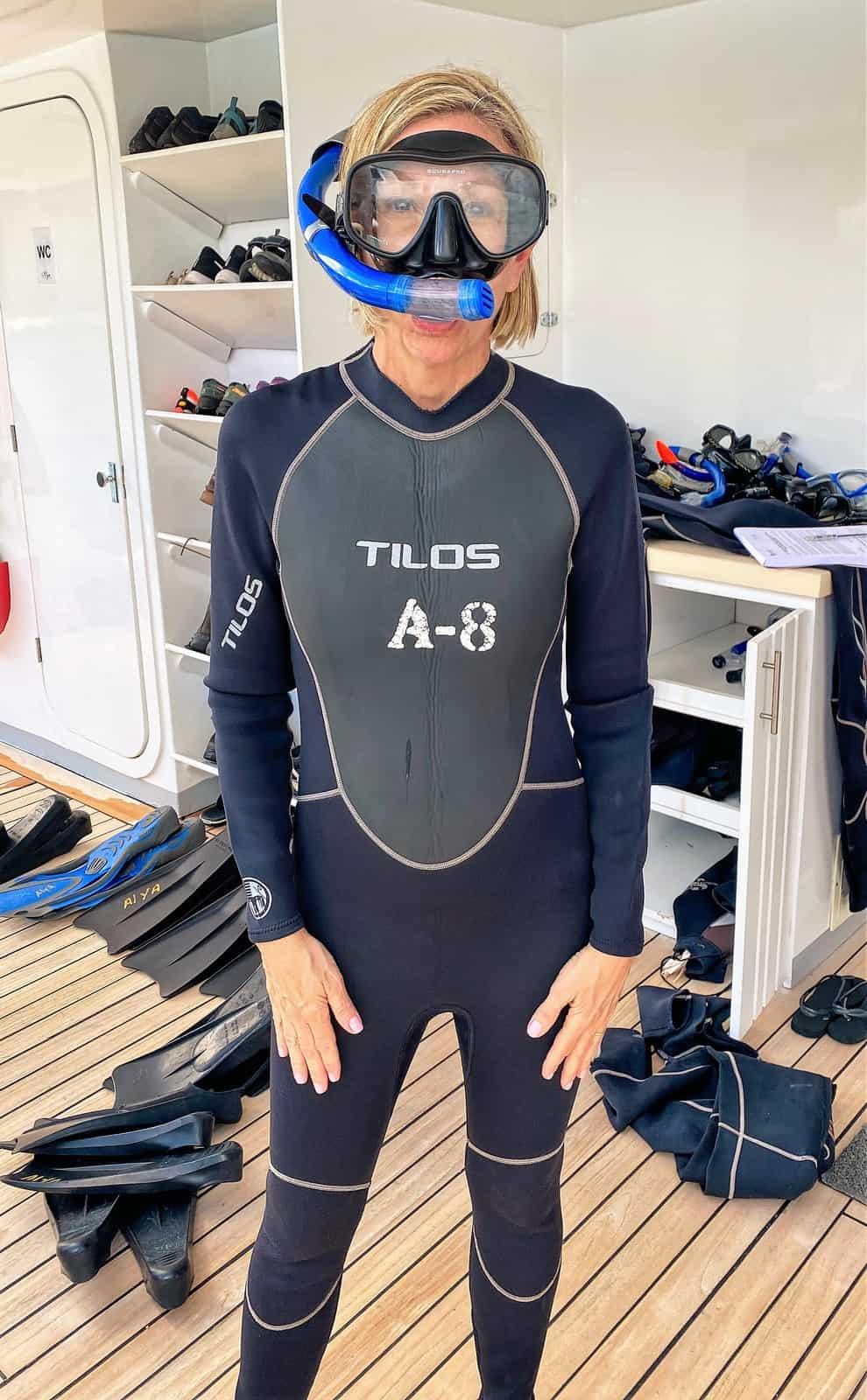 Tina snorkel
