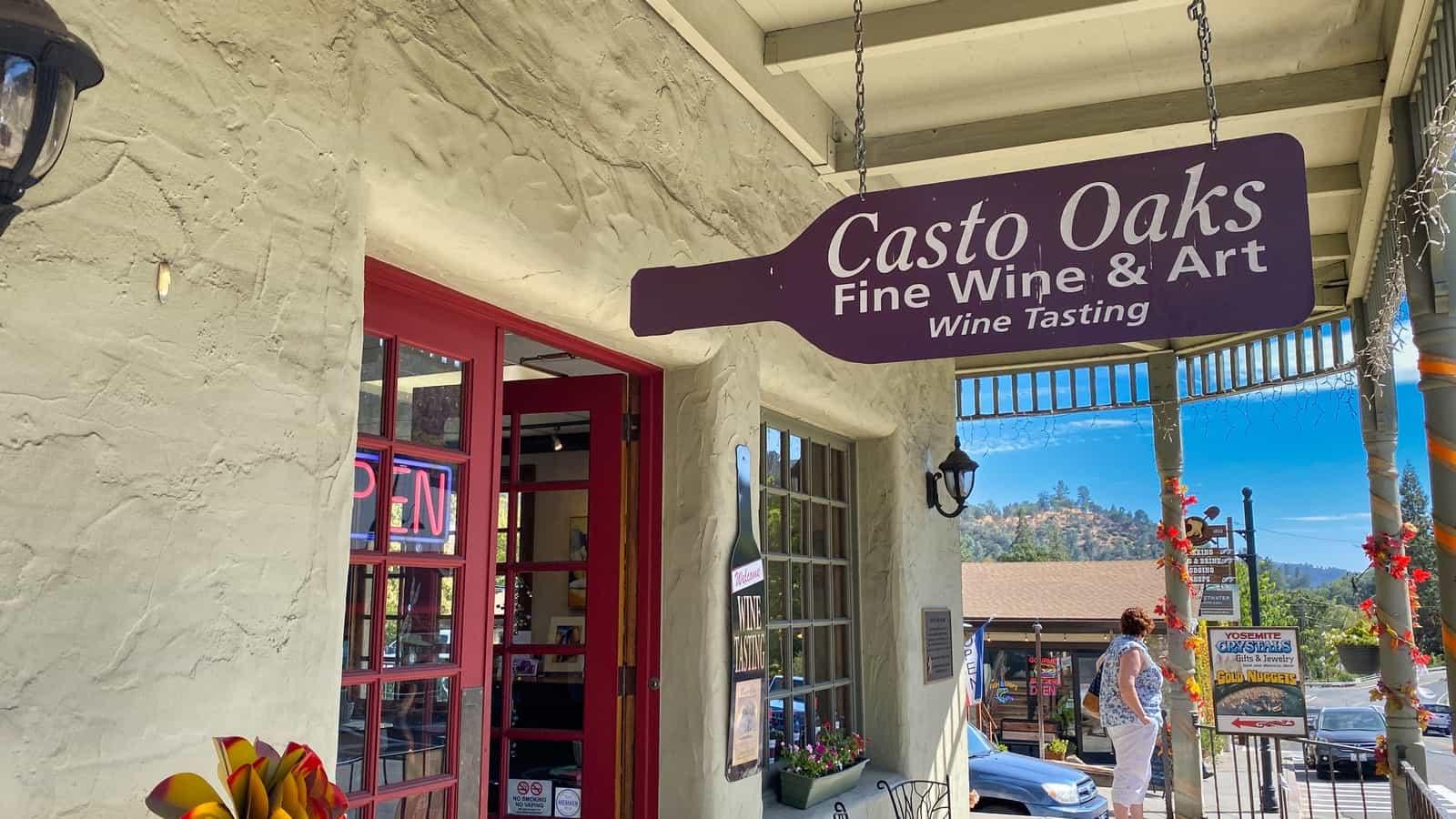 Yosemite Casto Oaks