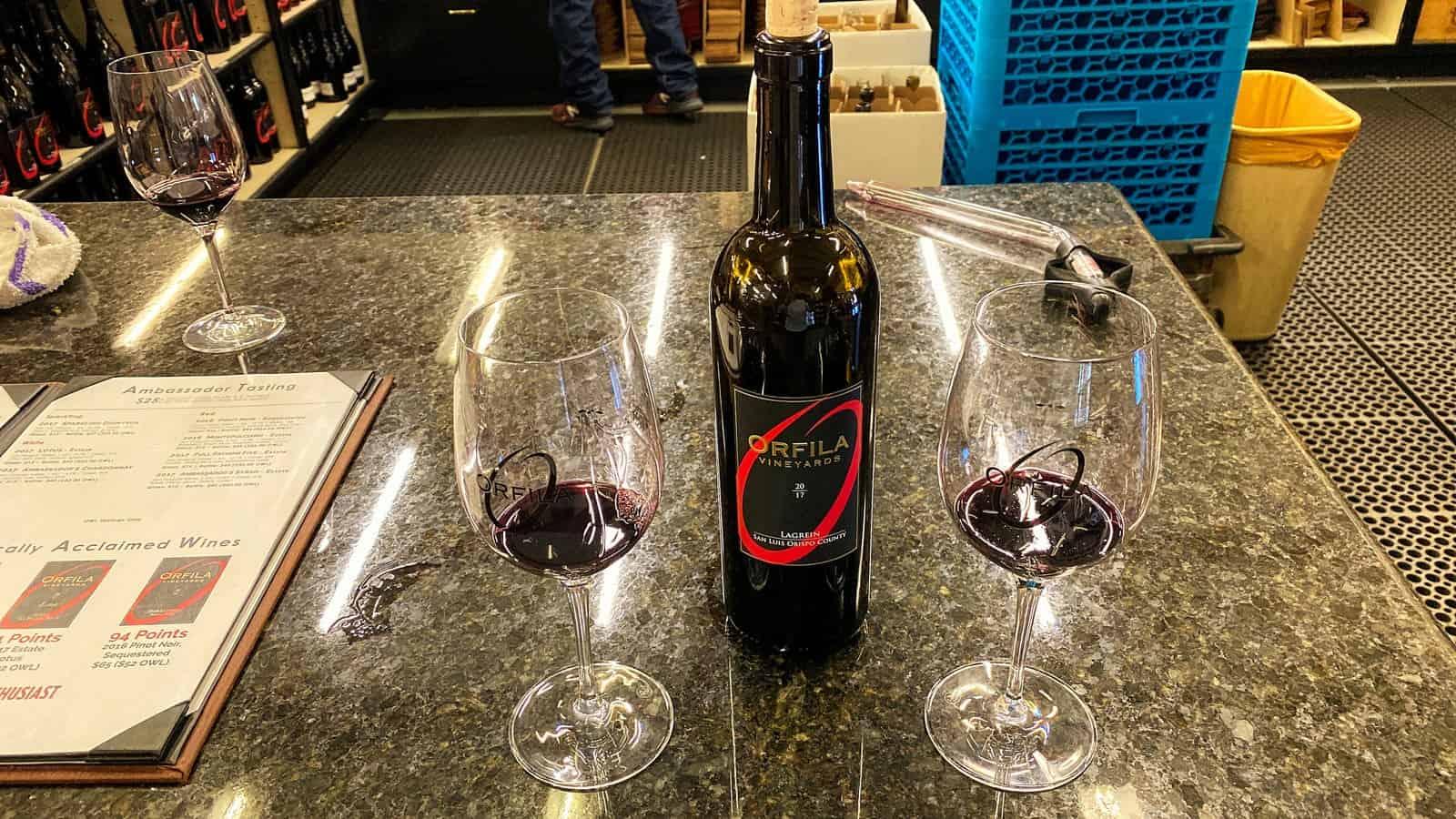 Orfilia wine